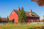 Big Red Barn at Crossen Farm, Built 1899, Coventry, CT