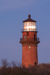 Gay Head Lighthouse in Early Evening, Martha's Vineyard, Aquinnah, MA