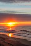 Sunrise and Surf at South Beach, Martha's Vineyard, Edgartown, MA
