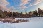 Winter Sunrise on Sportsman Pond, Fitzwilliam, NH