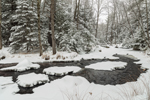 Scott Brook in Winter, Fitzwilliam, NH