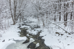 Beaver Brook in Winter after Fresh Snowfall, Wilmington, VT