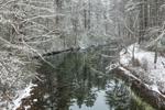 Swift River in Winter, Quabbin Reservation, Belchertown and Ware, MA