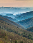 Mountain Wilderness, View from Newfound Gap Road, Great Smoky Mountains National Park, NC