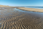 Ripple Patterns on Beach near Bar Head on Plum Island, Parker River National Wildlife Refuge, Ipswich, MA