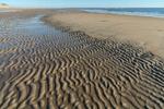 Ripple Patterns on Beach near Bar Head on Plum Island, Parker River National Wildlife Refuge, Ipswich, MA