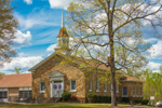 Hickory Grove United Methodist Church in Spring, Village of Mayfield, Piedmont Region, Rockingham County, Pelham, NC