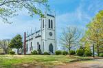 Historic Waddell Memorial Presbyterian Church, Built 1874, Rapidan Historic District, National Register of Historic Places, Piedmont Region, Rapidan, VA