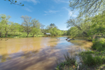 South Fork Broad River in Spring, Watson Mill Bridge State Park, Piedmont Region, Madison County, Comer, GA