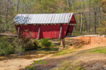 Campbell's Covered Bridge in Spring, Built 1909, Only Remaining Covered Bridge in SC, Piedmont Region, Greenville County, Gowensville, SC