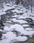 Snow Patterns in Sandy Brook, Colebrook, CT