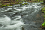Nubanusit Brook in Spring Freshet, Harrisville, NH