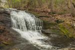 Chapel Falls on Chapel Brook in Spring Freshet, Chapel Brook Reservation, Pioneer Valley, Ashfield, MA
