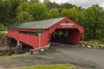 Taftsville Covered Bridge, Built 1836, Village of Taftsville, Woodstock, VT