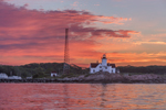 Predawn at Eastern Point Lighthouse, Cape Ann, Gloucester, MA