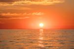 Sunrise at Sea, Atlantic Ocean off Cape Ann, Gloucester, MA