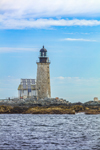 Halfway Rock Lighthouse, Casco Bay off Bailey Island, Harpswell, ME