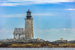 Halfway Rock Lighthouse, Casco Bay off Bailey Island, Harpswell, ME