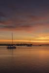 Predawn over Boats in Great Salt Pond, Block Island, RI
