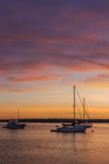 Predawn over Boats in Great Salt Pond, Block Island, RI