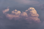Thunderhead Clouds at Sunset, Potter Cove, Prudence Island, Portsmouth, RI