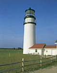 Cape Cod Light with Fencing