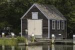 Wooden Boathouse on Lake Tashmoo, Vineyard Haven, Martha's Vineyard, Tisbury, MA
