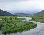 Big Hole River and Saddle Mountain