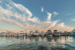 Sport Fishing Boats in Late Evening Light, Montauk Harbor at Montauk Yacht Club, Star Island, Long Island, Village of Montauk, East Hampton, NY