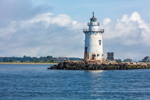 Saybrook Breakwater Lighthouse, Connecticut River and Long Island Sound, Old Saybrook, CT