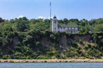 Horton Point Lighthouse (Built 1857), View from Long Island Sound, Southold, NY
