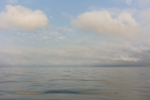 Morning Clouds and Calm Waters of Long Island Sound near Orient Point, Long Island, Southold, NY