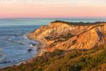 Gay Head Cliffs in Late Evening Light, Martha's Vineyard, Aquinnah, MA