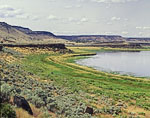 Pond and Buttes in High Desert