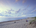 Evening Clouds at Charleston Beach