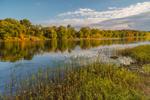 Delaware River in Early Fall, Delaware Water Gap National Recreation Area, near Bushkill, PA