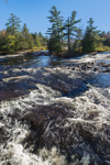 Bog River Falls in Autumn, Adirondack Park, Piercefield, NY