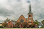 The United Ministry - Aurora Presbyterian Church and St. Paul's Episcopal Church, Finger Lakes Region, Cayuga Lake Scenic Byway, Aurora, NY