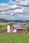 Red Barn with Silo, Grant County, Maysville, WV