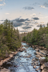 Blackwater River in Early Evening Light, Blackwater Falls State Park, Davis, WV