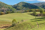 Rolling Hills and Rural Farmlands, Grant County, Lahmansville, WV