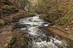 Seneca Falls on Kitchen Creek after Heavy Rainstorm, Ricketts Glen State Park, Luzerne County, near Benton, PA