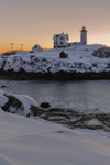 Predawn at Nubble Light, (Cape Neddick Lighthouse), Cape Neddick, York, ME