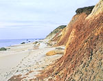 Brightly Colored Clay at Gay Head Cliffs