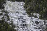 Frozen Waterfall on Mount Willard, Crawford Notch State Park, White Mountains Region, Harts Location, NH