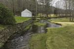 English Neighborhood Brook in Early Spring, Woodstock, CT