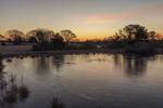 Sunrise at Jernegan Pond, Martha's Vineyard, Edgartown, MA