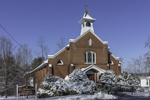 St. Bernard Church after Fresh Snowfall, Sharon, CT