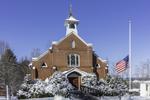 St. Bernard Church after Fresh Snowfall, Sharon, CT