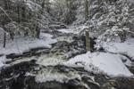 Scott Brook after Fresh Snowfall, Fitzwilliam, NH
